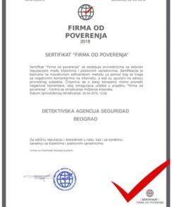 Seguridad Beograd firma od poverenja